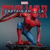 新品发售:QUEEN STUDIOS 美国队长 内战 SPIDER MAN 蜘蛛侠1/4雕像