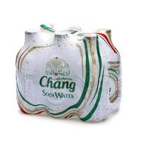 Chang 象牌 无糖苏打水碱性水气泡汽水饮料 325ml*6瓶 *6件