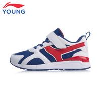 LI-NING 李宁 中大童运动鞋 YKCP262-1 深宝蓝/标准白 *3件