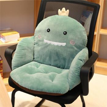 京东PLUS会员:2020新款腰靠全包连体坐垫地上靠垫一体地板垫子榻榻米椅垫办公室久坐靠背
