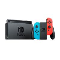 Nintendo 任天堂 国行 Switch游戏主机 续航增强版 红蓝