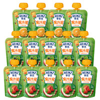 Heinz 亨氏 婴儿水果果汁泥 14袋