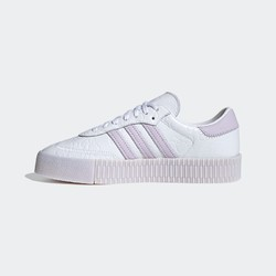 adidas 阿迪达斯 三叶草 SAMBAROSE W FV0770 女子运动鞋