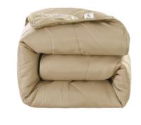 诱寝 澳洲羊毛被  无异味不钻毛被芯 羊毛被--驼 180*200cm-6斤