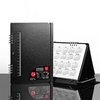 fizz 飞兹 FZ33003 多功能支架日历笔记本 A5/80张 黑色