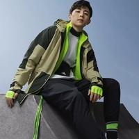adidas 阿迪达斯 GF4013 男款工装风连帽夹克