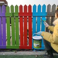 切瑞西水性木器漆环保木漆家具翻新漆 透明色 1L *2件