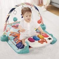 babycare 婴儿健身架脚踏钢琴早教游戏毯