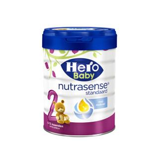 Hero Baby 白金版 婴幼儿配方牛奶粉 2段 800g *3件