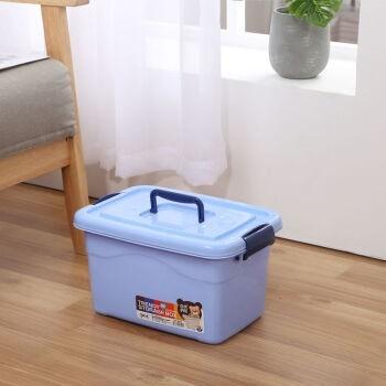 爱思顿 加厚塑料收纳箱 10L*1个装