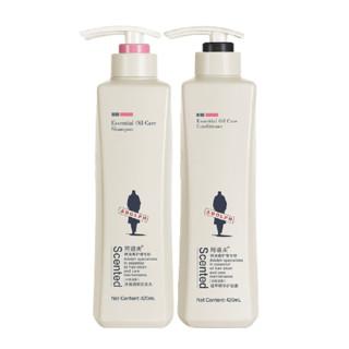 ADOLPH 阿道夫 控油清爽洗发水420ml+护发素420ml *2件