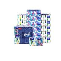 poOtsh Mini系列 自然无香抽纸+手帕纸  4层*80抽*16包+4层*5张*18包