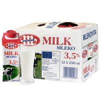 Mlekovita 妙可 全脂纯牛奶 250ml*12盒 *6件