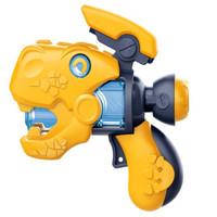 移动专享:靓趣 新款黄色恐龙八音枪