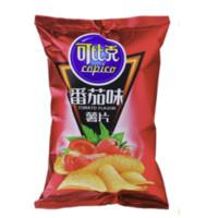copico 可比克 薯片 番茄味 60g*5包