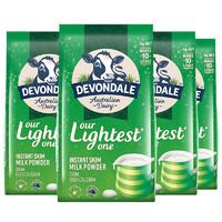 23:58截止:Devondale 德运 脱脂高钙成人奶粉 1kg*4袋