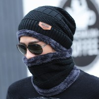 PAOLO FRHEALY 保罗·弗希尼 黑色帽子围脖