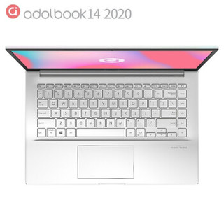 ASUS 华硕 adolbook14 2020 增强版 14英寸笔记本电脑(i5-10210U、16GB、512GB、MX350)