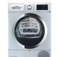BOSCH 博世 WTU87RH80W 热泵式烘干机 9kg 银色
