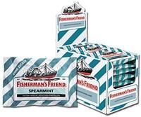 Fisherman's Friend 渔夫之宝 留兰香薄荷味润喉糖 24小袋/盒 ,****,清新口气