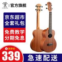 彩虹人(aNueNue)ukulele尤克里里初学者乌克丽丽小吉他 23英寸aNN-B2桃花芯木