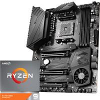 MSI 微星 MEG X570 UNIFY暗影板主板 AMD 锐龙9 3950X处理器(r9)板U套装/主板CPU套装
