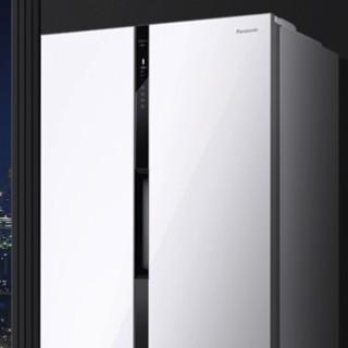Panasonic 松下 NR-EW58G1-XW 风冷 对开门冰箱 570L 珍珠白