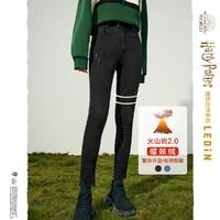 【哈利波特联名】乐町贴标紧身牛仔裤2020冬装新款铅笔裤