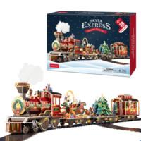 乐立方 3D立体拼图  圣诞小火车