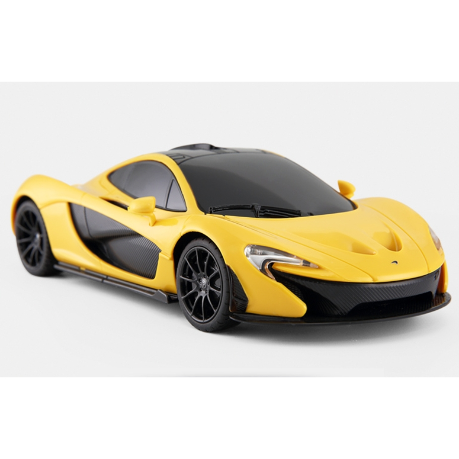 RASTAR 星辉 迈凯伦遥控汽车 1:24高仿真模型赛车 黄色