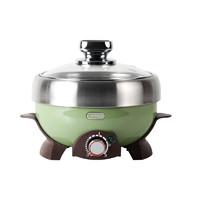 ernte EHP-1902-OG 电煮锅 复古绿 标配版