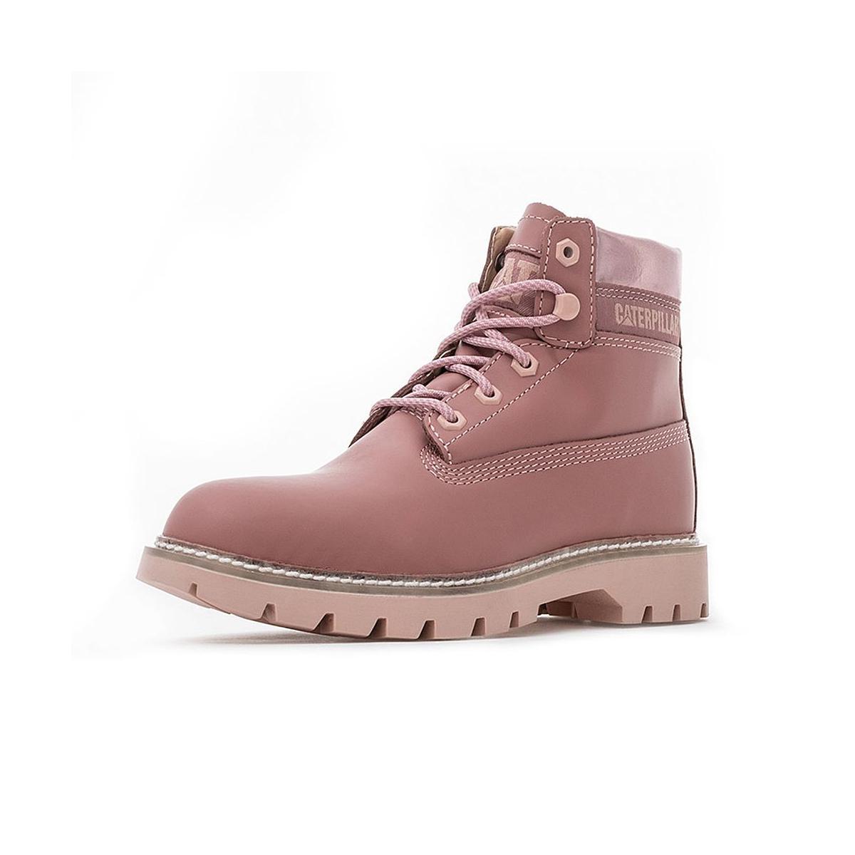 CAT 卡特彼勒 P310988I3BDC55 女款牛皮革休闲靴