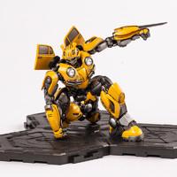 正版授权现货小号手变形金刚大黄蜂免胶可动拼装模型 08100