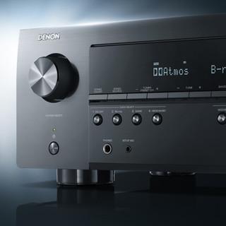 DENON 天龙 AVR-S960H 7声道AV功放机功放 黑色