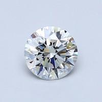 超值黑五、值友专享:Blue Nile 0.66克拉圆形切割钻石(切工EX,成色G,精度VS2)