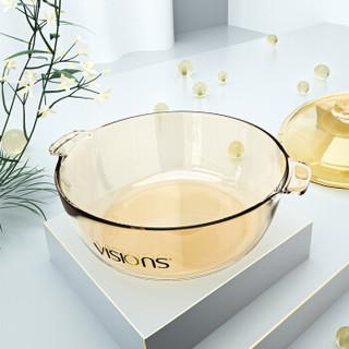 康宁(VISIONS)3L晶莹系列透明玻璃汤锅炖锅VS-3-JY/JD