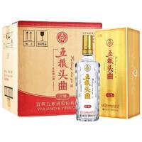 京东PLUS会员:WULIANGYE 五粮液  52度 浓香型高度白酒  500ml*6瓶