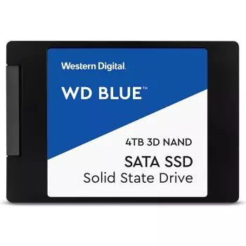 WD 西部数据 Blue系列 进阶高速读写版 SATA 固态硬盘 4TB