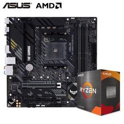 AMD 锐龙 7 5800X CPU处理器 + ASUS 华硕 TUF GAMING B550M-PLUS 重炮手 板U套装