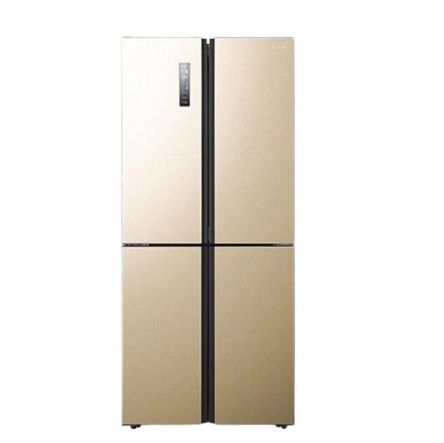 Hisense 海信 哈利系列 BCD-410WMK1DPQ 风冷十字对开门冰箱 410L 金色