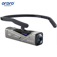 欧达(ORDRO)EP7头戴摄像机4K运动相机云台摄影机vlog短视频录像机便携高清dv随身记录仪 vlog短视频直播