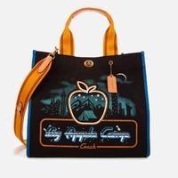 超值黑五、银联爆品日:COACH 蔻驰 1941 大苹果标志 女士手提包