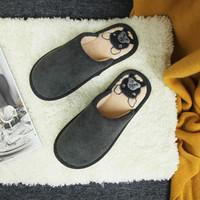 疯狂星期三:Hodo 红豆 D0X15701Z19 男女款棉拖鞋