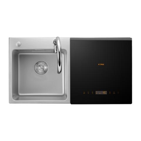 方太(FOTILE)水槽洗碗机嵌入式 全自动三合一洗果蔬洗海鲜 2-6口之家 消毒 除菌 K3A洗碗机