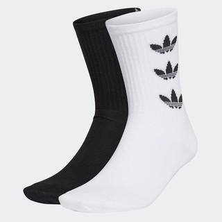 adidas 阿迪达斯 三叶草 CUFF CRW 2P GD3559 中性运动袜