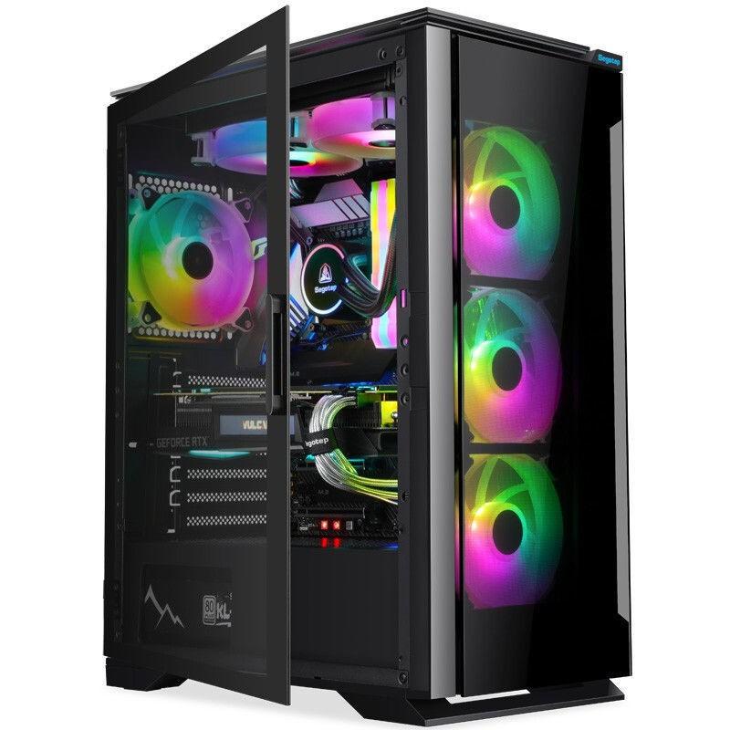 IPASON 攀升 台式组装机(R5-5600X、RTX 3060TI、16GB、250GB)