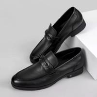 26日12点:YEARCON 意尔康 小牛皮扣饰 浅口皮鞋