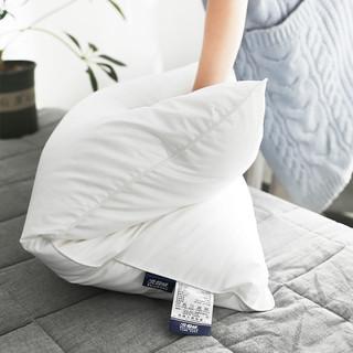 北极绒 可水洗羽丝绒枕头 40*60cm