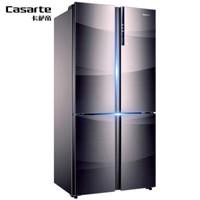 卡萨帝(Casarte)十字对开多门651升变频节能风冷无霜电冰箱 BCD-651WDCHU1 独立三循环+干湿分储