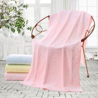 谜城 加厚吸水浴巾 70/140浴巾(4条装)